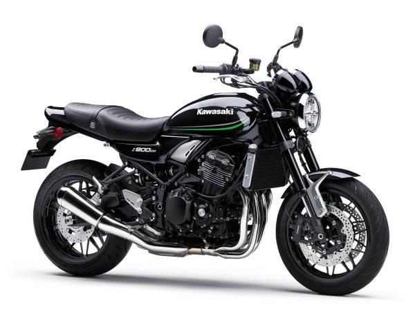 Kawasaki Z900RS 2021 - verde, negru