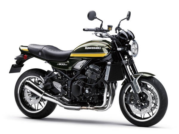 Kawasaki Z900RS 2021 - galben, negru