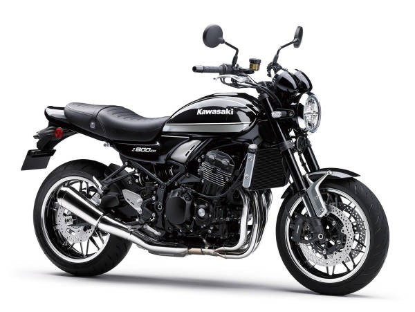 Kawasaki Z900RS 2021 - gri, negru