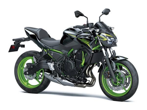 Kawasaki Z650 2021 - verde, negru