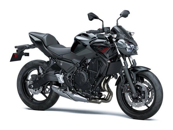 Kawasaki Z650 2021 - negru