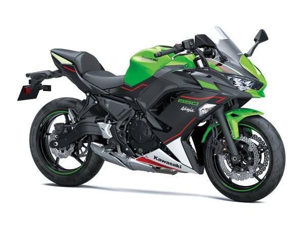 Kawasaki Ninja 650 2021 - verde, negru, rosu
