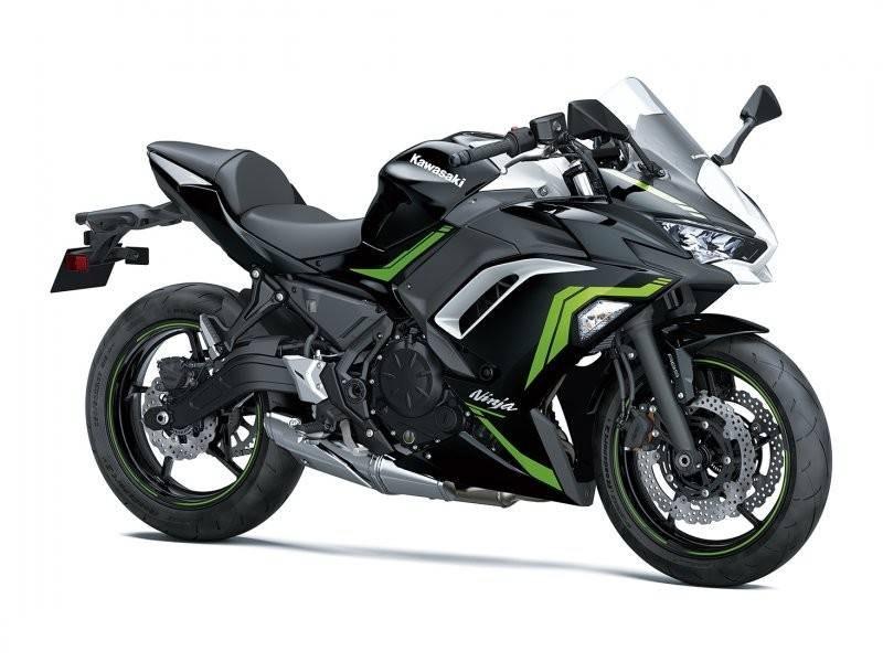 Kawasaki Ninja 650 2021 - verde, negru