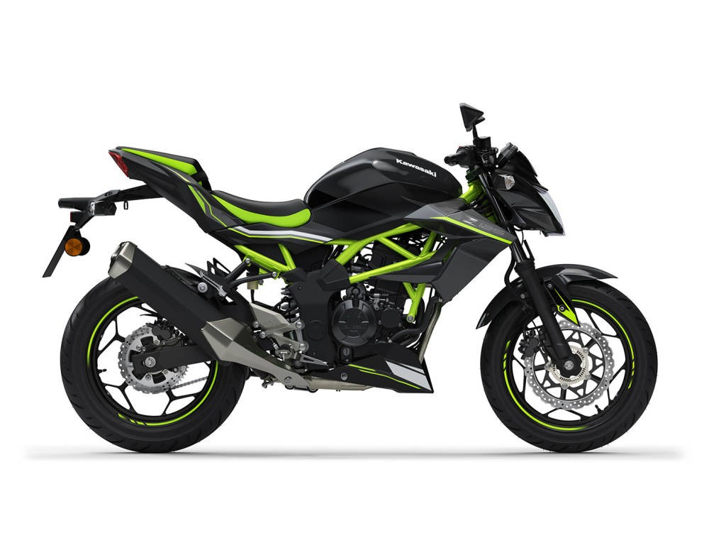 Kawasaki Z125 2021 - galben, negru